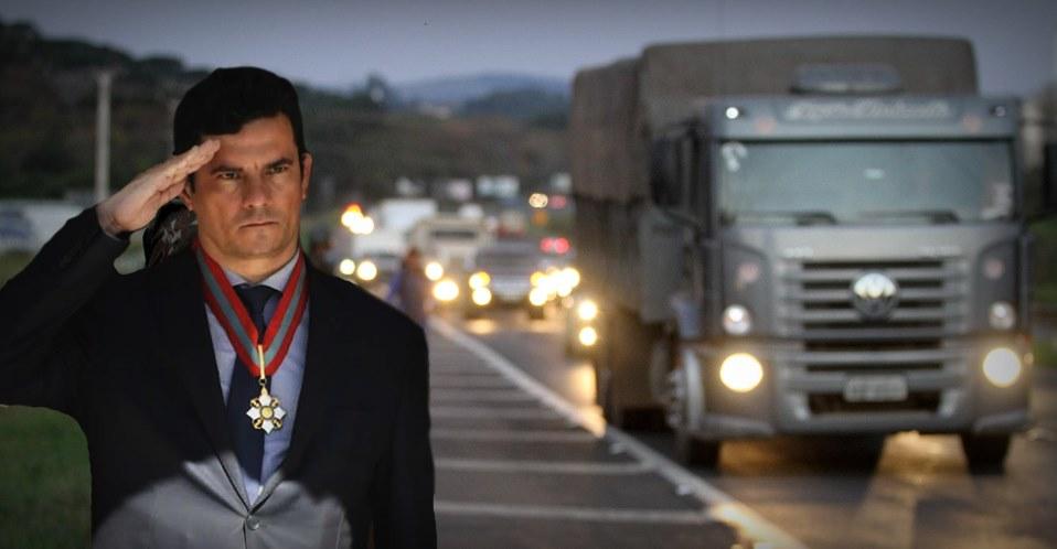 Com Sérgio Moro, roubo de cargas diminui 35% em 2019 nas estradas federais