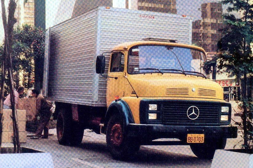 Mercedes-Benz 1113 o caminhão mais vendido da história do Brasil