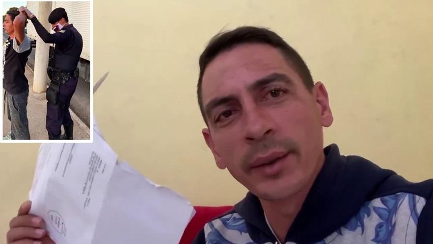 Caminhoneiro que foi desrespeitado em Andradas, recebe 3 autuações em casa