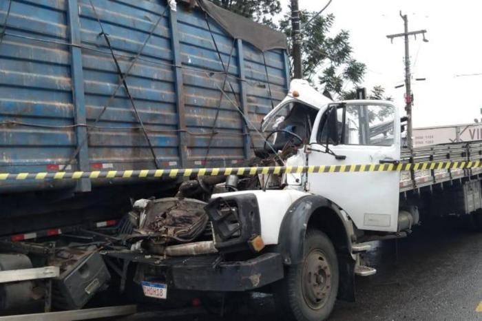 Esposa de caminhoneiro perde a vida em acidente na RS-240