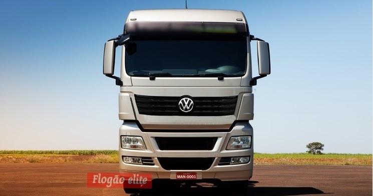 Novo caminhão da Volkswagen com 520 cv é flagrado puxando rodotrem no RJ