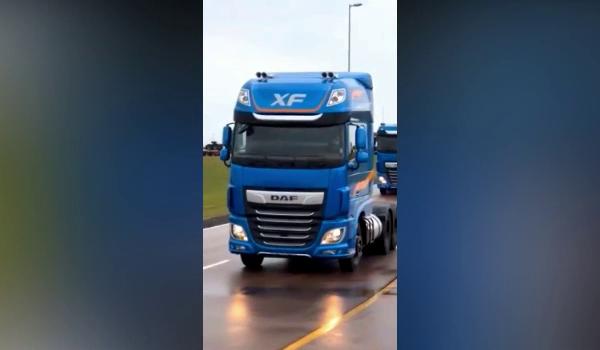Confira a chegada dos novos DAF em Ponta Grossa - Jornal do caminhoneiro