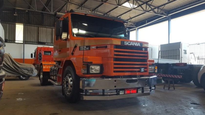 Conheça o modelo Scania mais raro do Brasil T 112H s - jornal do caminhoneiro 3