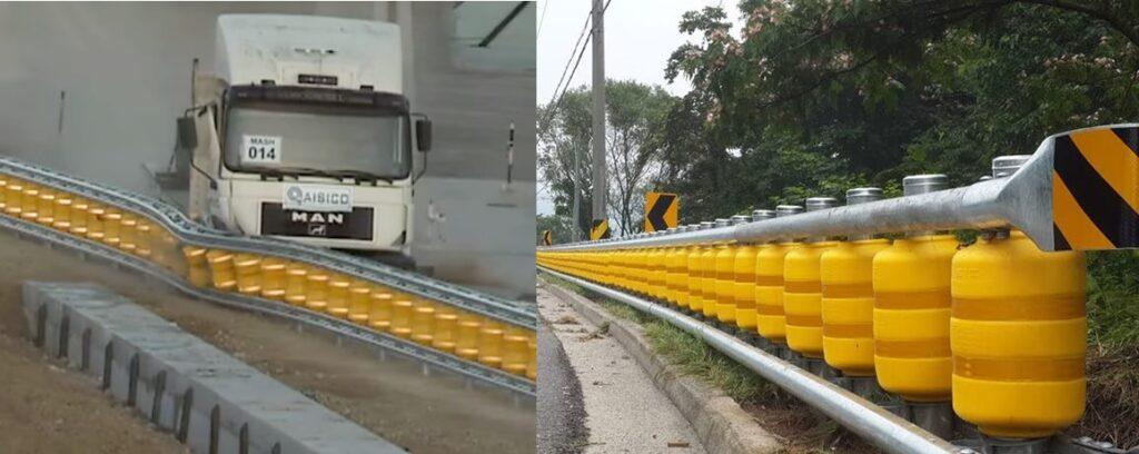 Conheça o novo 'Guardrails' que promete salvar vidas nas estradas