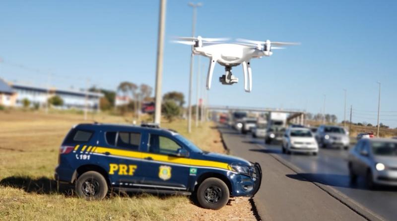 PRF inicia fiscalização com drones em Goiás
