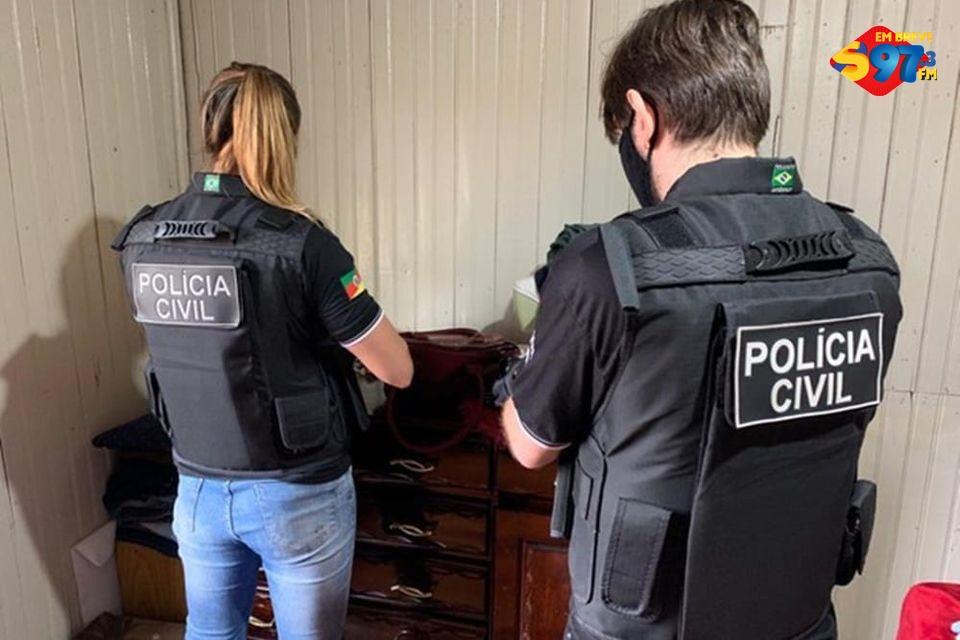 Polícia Civil desarticula quadrilha especializada em desvio de soja no RS