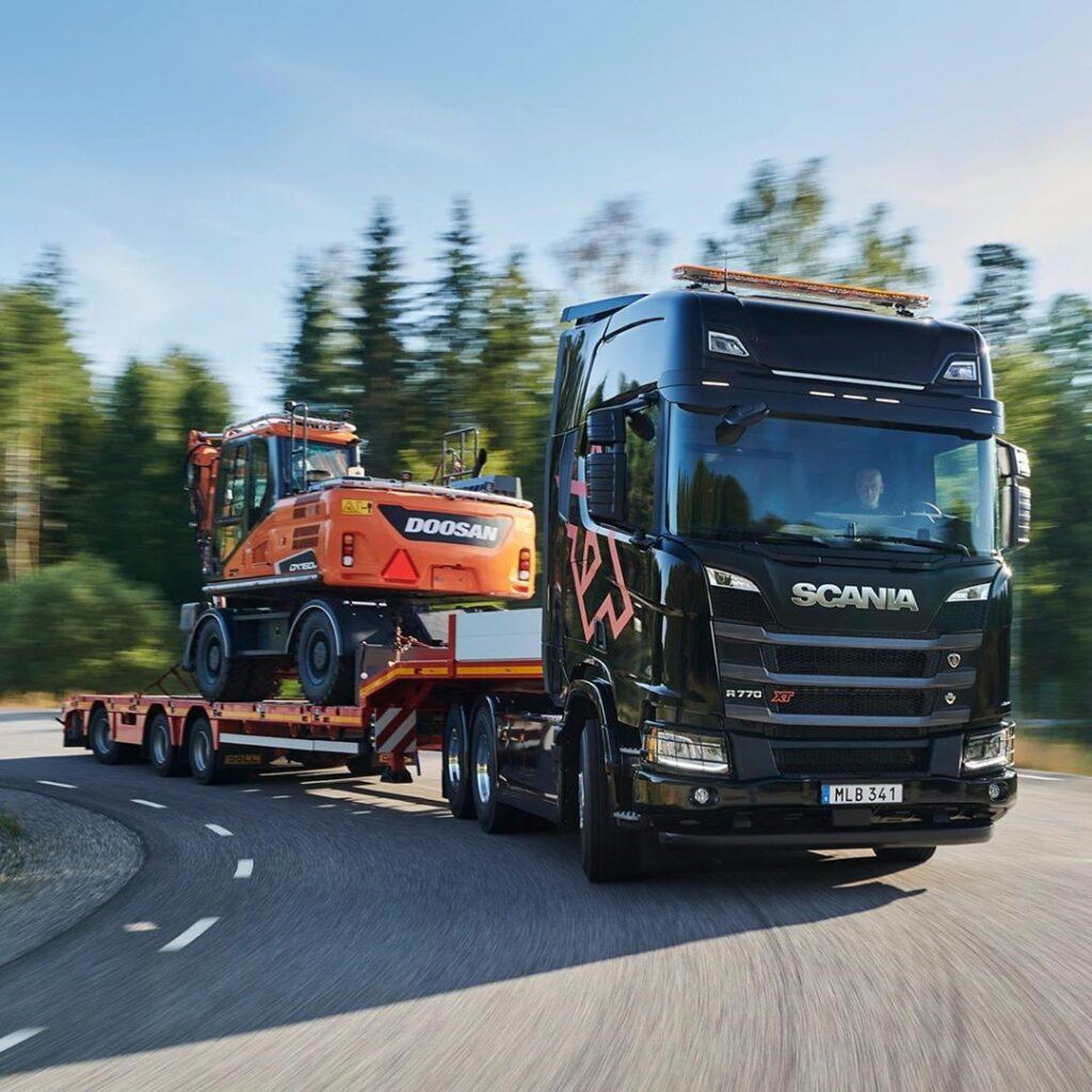 Conheça o novo caminhão mais potente do mundo: Scania R770 V8 XT