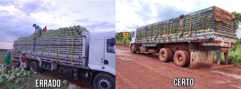 Como transportar carga granel sólida sem ser multado