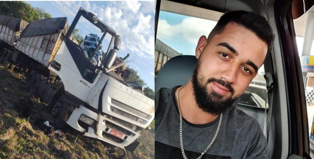 Confirmada a morte de caminhoneiro que viajava junto na carreta atingida por ônibus em Taguaí