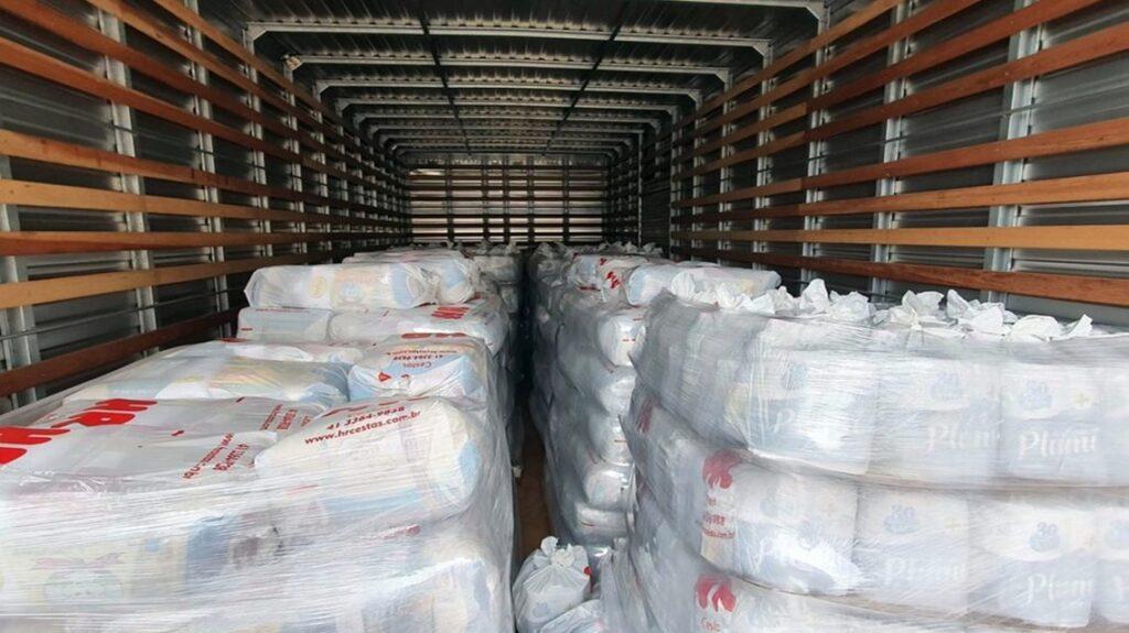 Indígenas de Nova Laranjeiras recebem 5 mil cestas básicas e kits de higiene