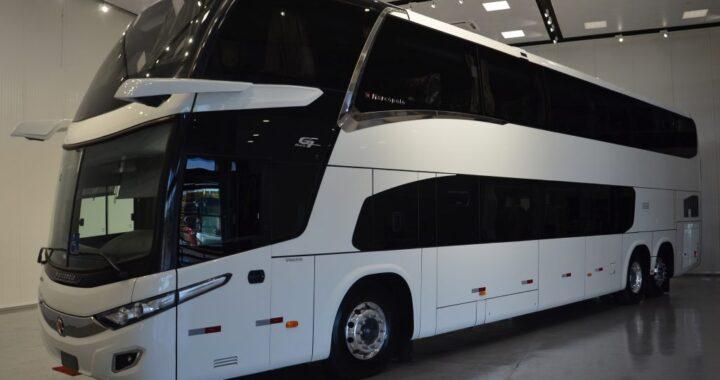 Marcopolo lança ônibus rodoviário sem espelho retrovisor