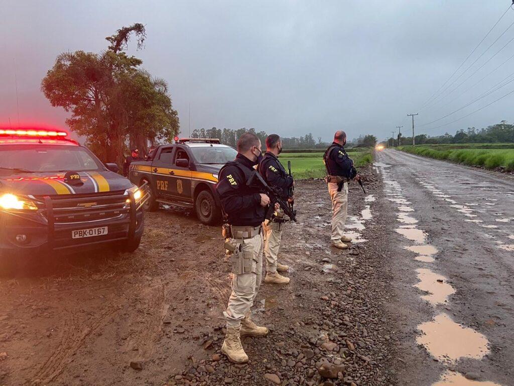 Depois de assalto em Criciúma, PRF intensifica fiscalização nas estradas de SC e RS