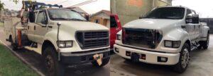 Caminhão F1400 é transformado em camionete de luxo no Paraná